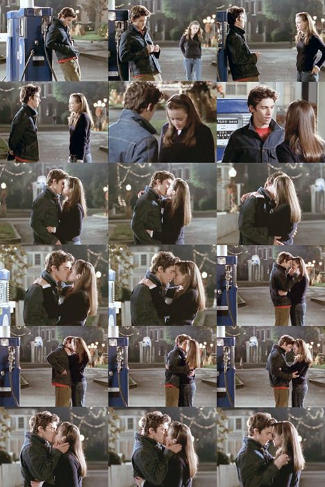 Gilmore Girls. Jess and Rory <3