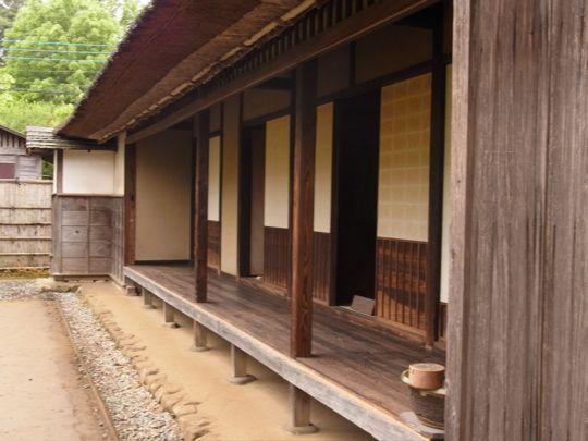 日本家屋 明治時代 - 縁側