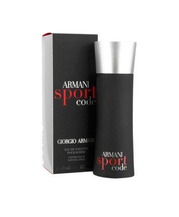 Giorgio Armani Code Sport Men EDT 75ML #ohnineone