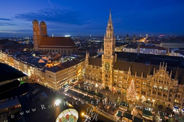 Munich, GermanyChristmas Time, Christmas Markets, Favorite Places, Peter Church, Munich Germany, Aerial View, Bavaria Germany, Christmas Marketing, Munich Christmas