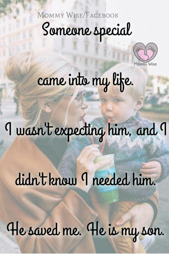 My son really did save my life; he gave me the courage to live a life full of love and absent of emotional pain and fear.