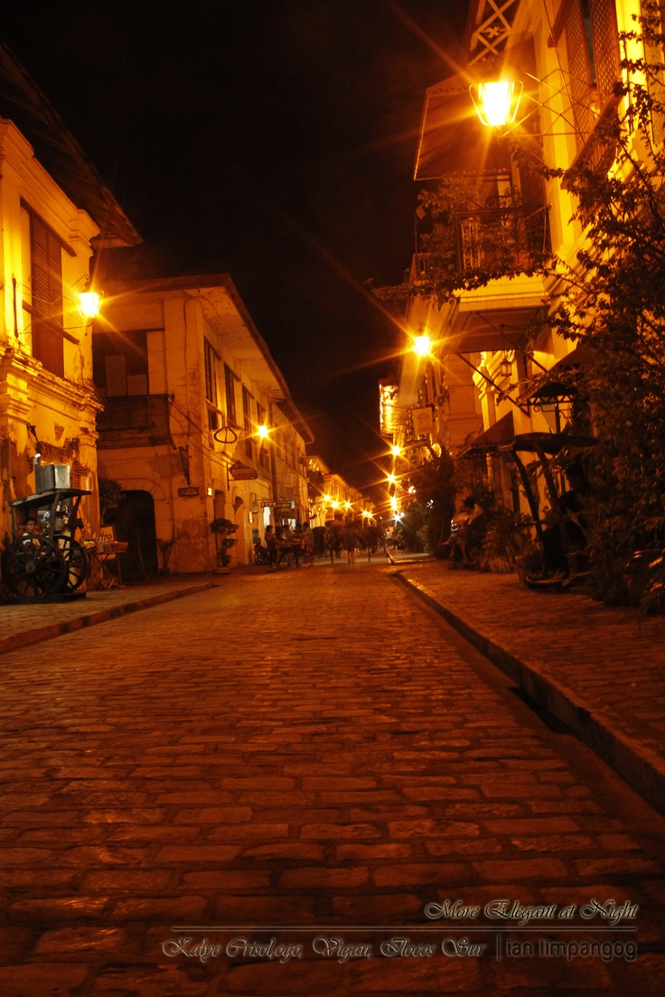 Vigan: More elegant at NightElegant, Night, Vigan Famous, Freedom Wall