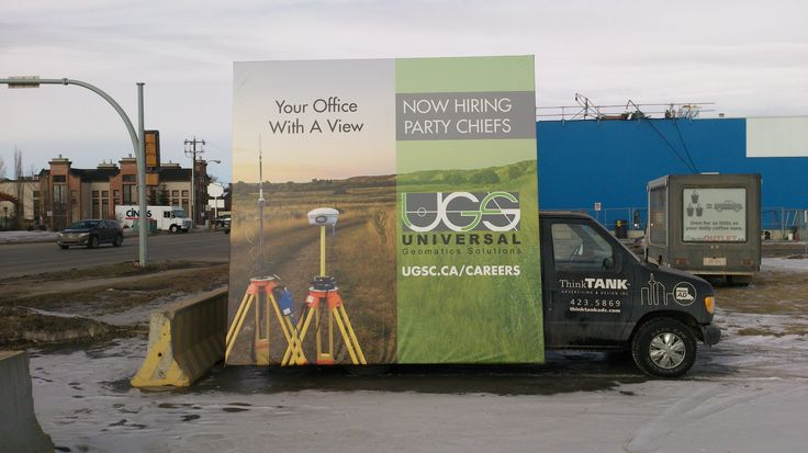 UGS took advantage of a Mobile AdVan as part of their recruitment campaign in order to get the message out throughout the city. #recruitmentadvertising #recruitmentstrategy #recruitment