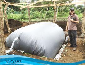 El invento de un joven ingeniero permite a cientos de ganaderos obtener biogás de excrementos animales