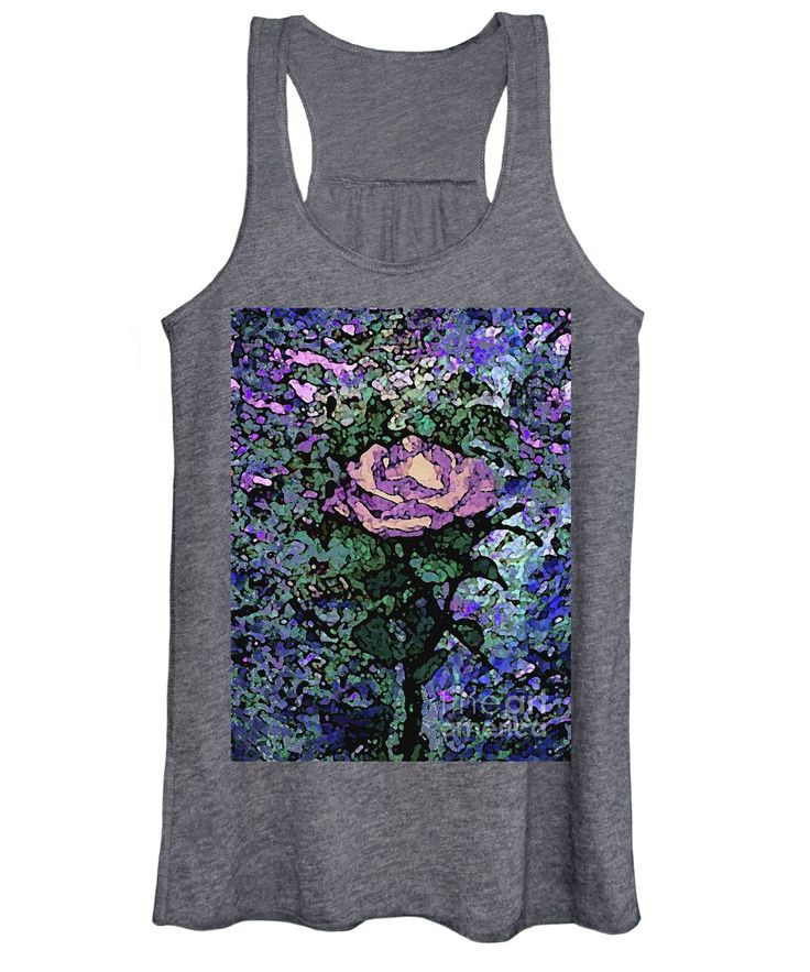 Rose Of Purple And Peach Women's Tank Top for Sale by Corinne Carroll
