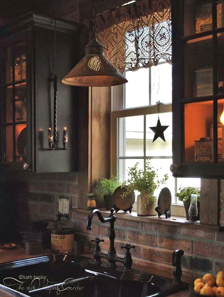 Rustic Kitchen Ideas In 2020 Country Kitchen Decor Primitive