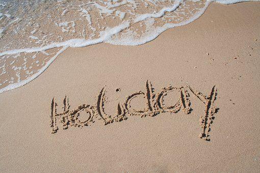 Διακοπές, Παραλία, Άμμου, Καλοκαίρι