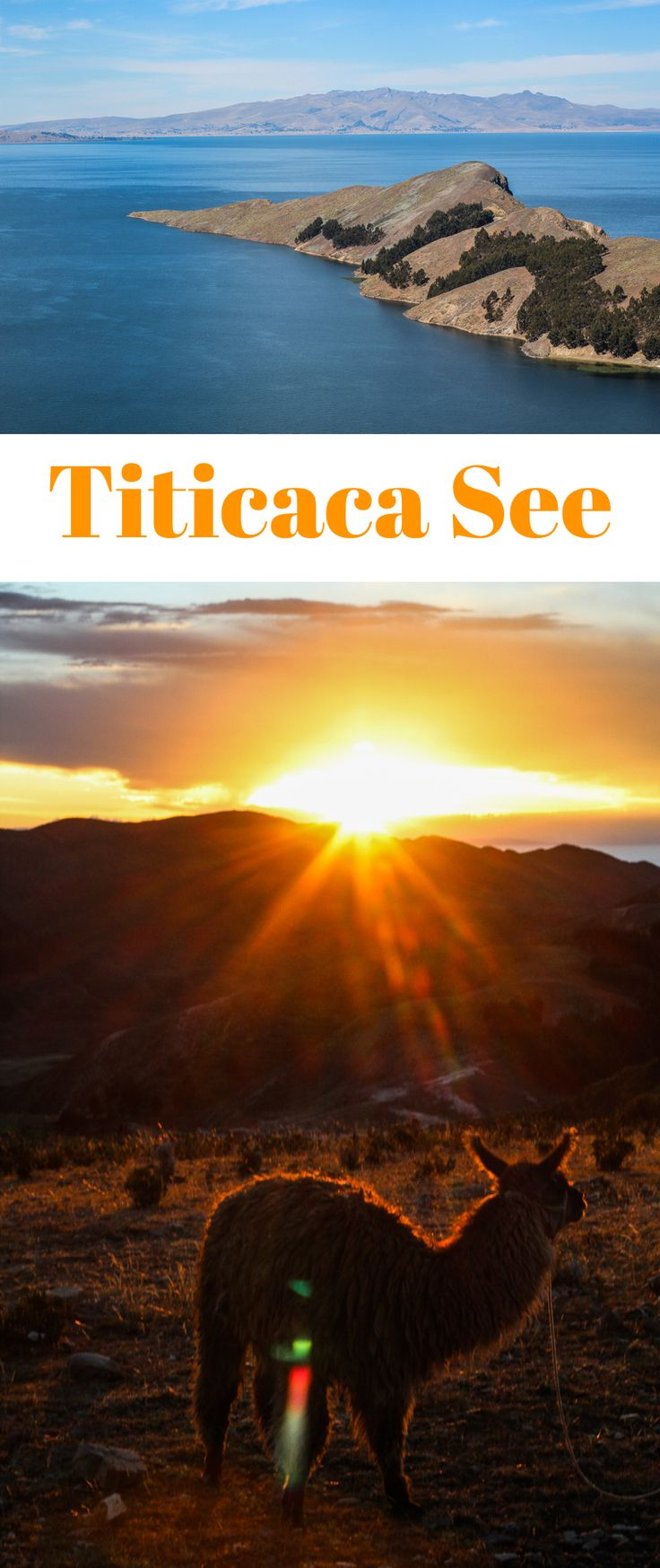 Titicaca See in Bolivien mein Bericht über die Isla del Sol..