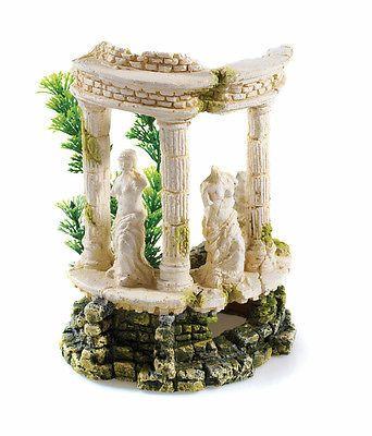 Greek Roman Themed Ancient Ruins Aquarium Ornament Fish Tank BiOrb Decoration