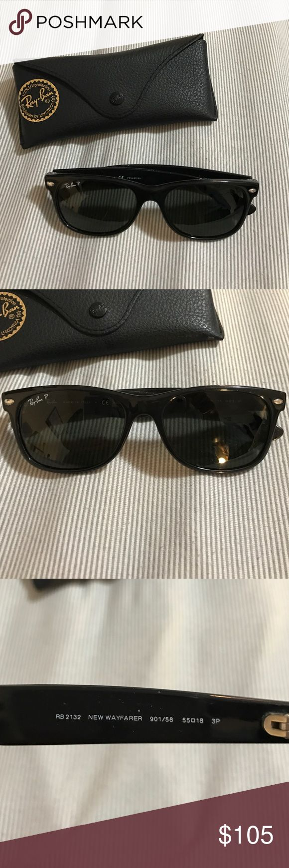 Ray ban Wayfarer Polarized! Excellent condition. Never worn Ray-Ban Accessories Sunglasses
