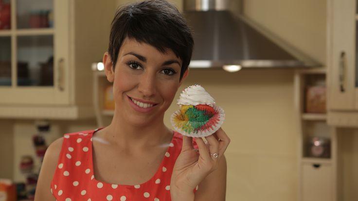 #Cupcakesarcoíris con Alma