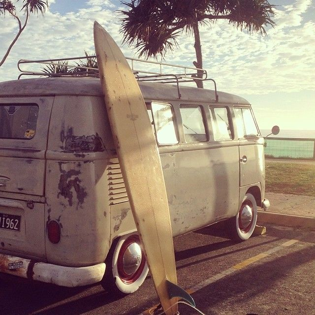 Beach dreams. #Volkswagen #RoadTrip #SurfsUp #Adventure #Beach #Travel #Wanderlust #CarShowSafari