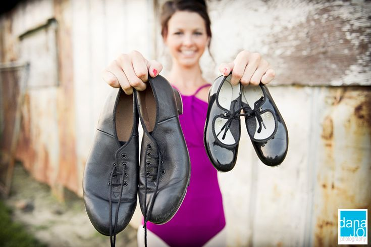 senior picture with dance shoes - Google Search
