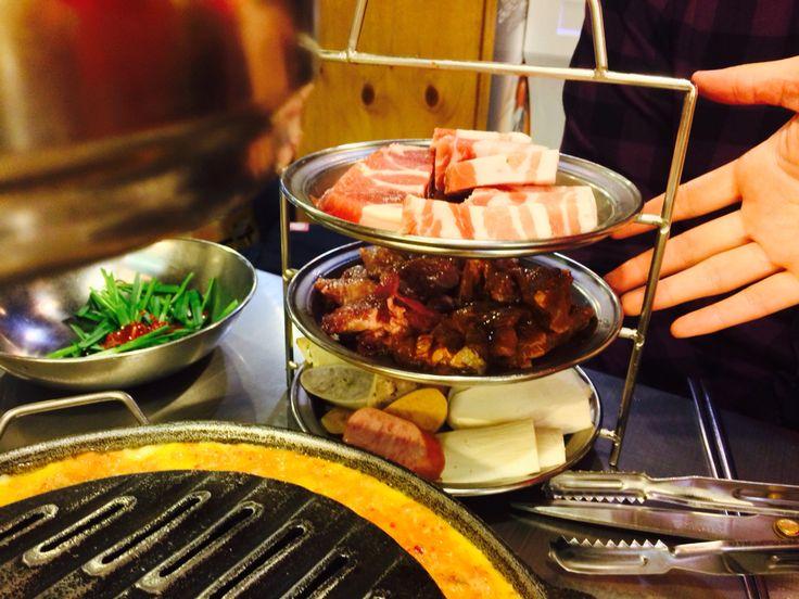 마포갈매기 돼지 세트