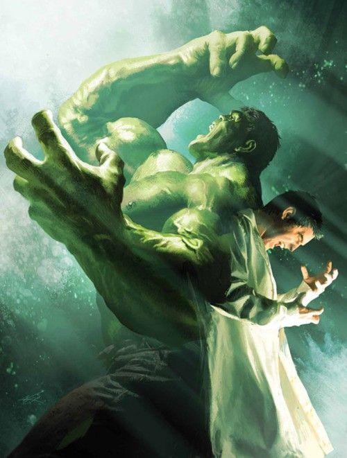 The Hulk vs. Bruce Banner | Supernaturals | Pinterest