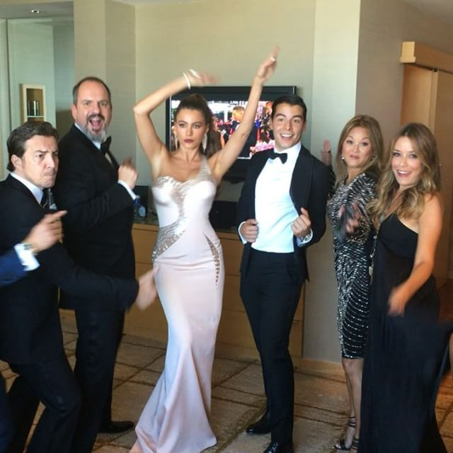 Pin for Later: These Photos Will Make You Wish You Were Part of Sofia Vergara's Emmys Entourage