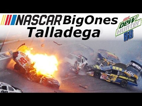 NASCAR Talladega Big Ones - YouTube