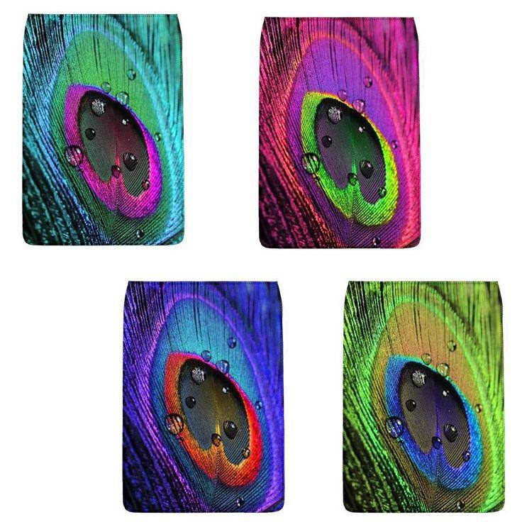 """""""Eye of The Peacock"""" Removable Flap for Chameleon Shoulder Bag (Regular)"""