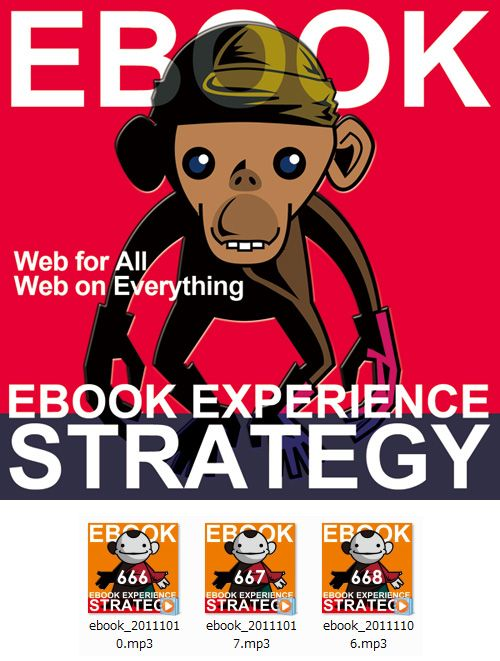 EBOOK STRATEGY Podcast Cover Image