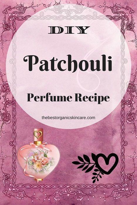 Patchouli Perfume Recipe – Feel the Love