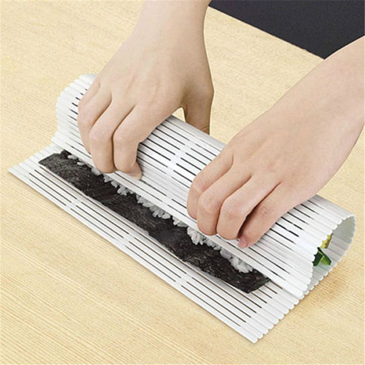 1 PC New DIY Easy Sushi Roller Pad Plastic Mat Makers Magic Cooking Home Kitchen Tool   #Affiliate