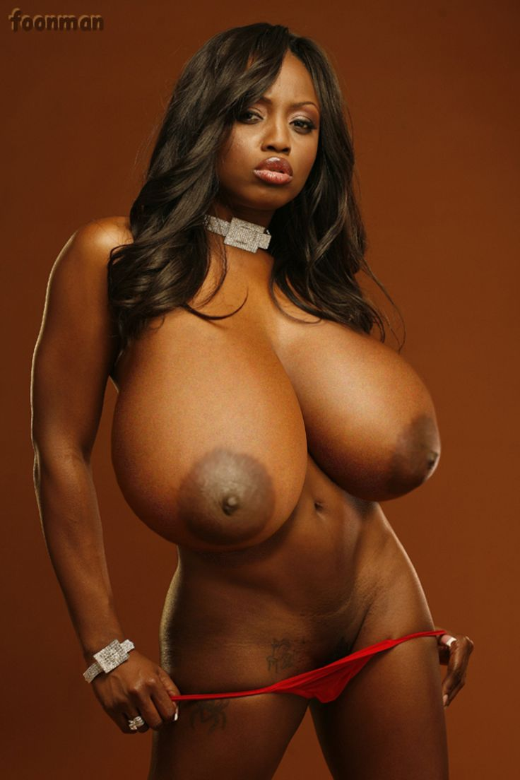 massive black breasts