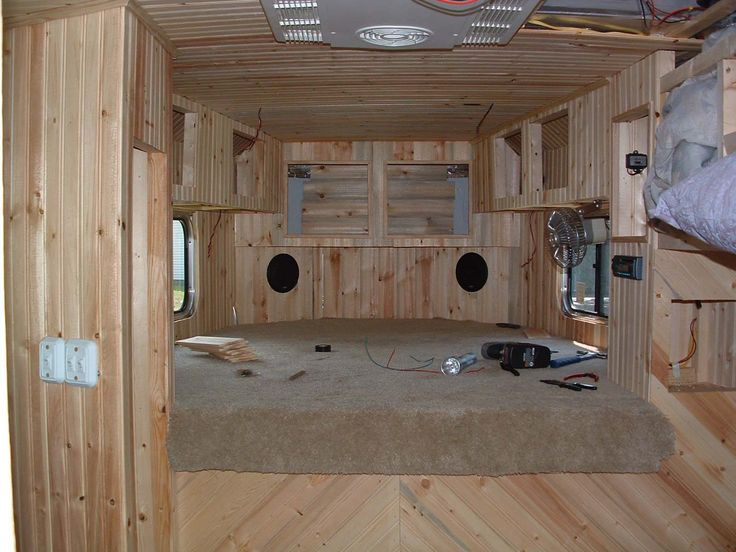 DIY horse trailer conversion- step by step