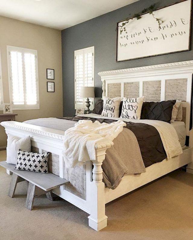 35 Amazing Modern Farmhouse Style Ideas For Your Bedroom Design Farmhouse Style Bedroom Decor Modern Farmhouse Style Bedroom Farmhouse Bedroom Decor