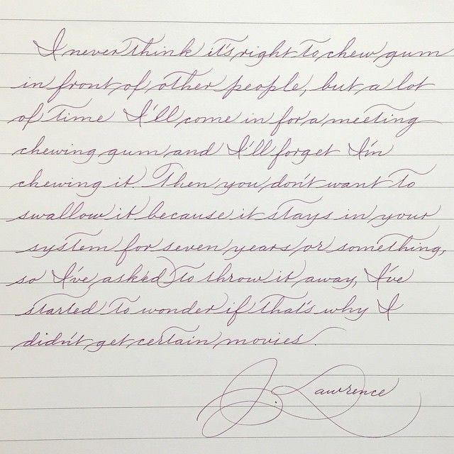 Fuente handwriting analysis
