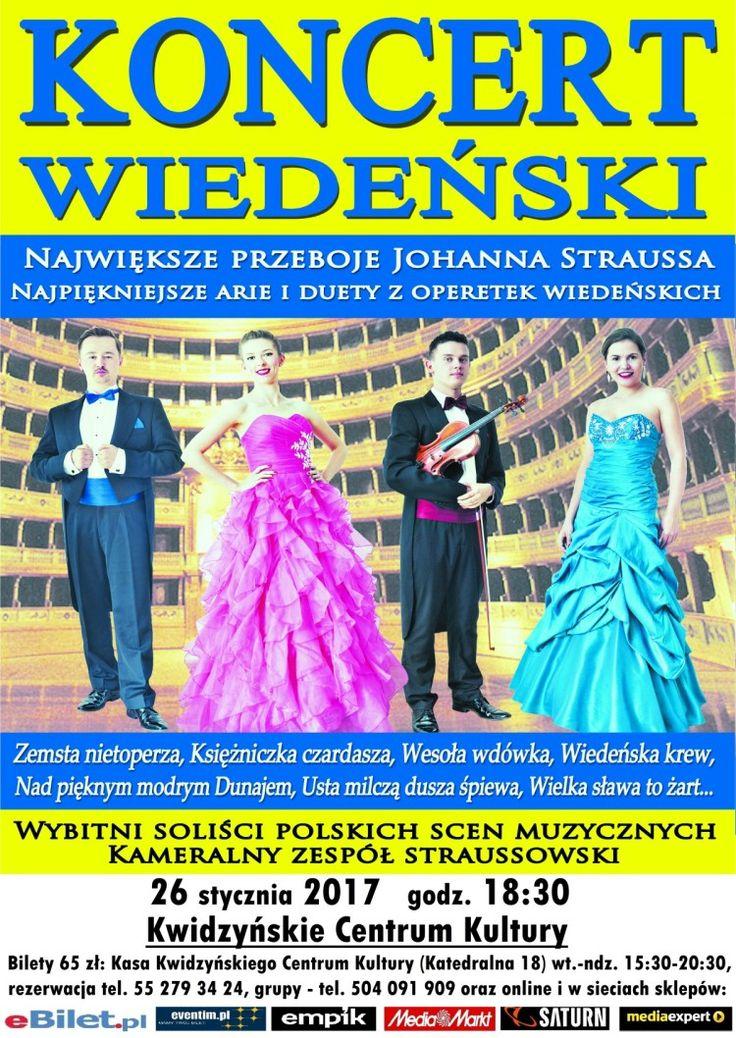 [26.01.2017] Koncert Wiedeński – Kwidzyńskie Centrum Kultury