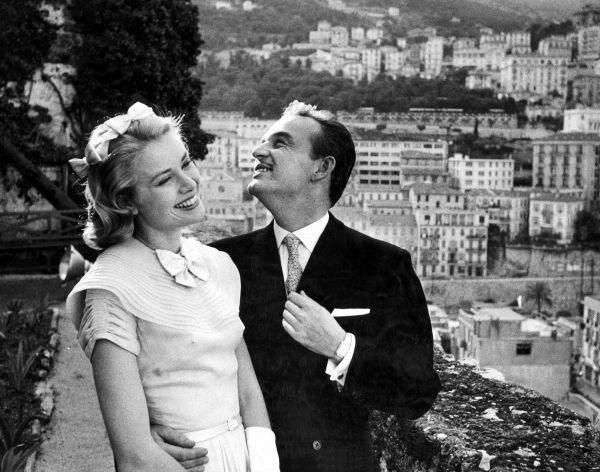 Prince Rainier of Monaco, Grace Kelly