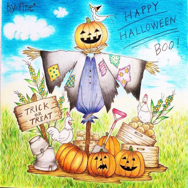 Happy Halloween☆ Halloweenのかぼちゃが、ちょこっと苦手な私。 今回は、苦手なかぼちゃを塗っ