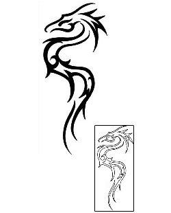 Tribal Dragon Tattoos x1F-00190 Created by Josh Stanley