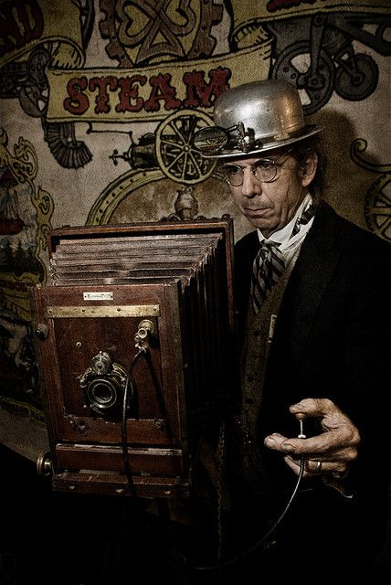 STEAMPUNK CONVENTION by Mark Berry - Photographer & Graphic Designer, via Flickr