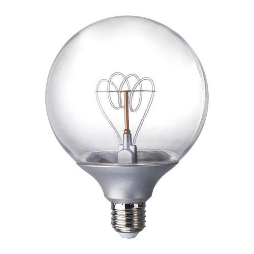IKEA - NITTIO, LED bulb E26 20 lumen, LED life approx. 25,000 hours.