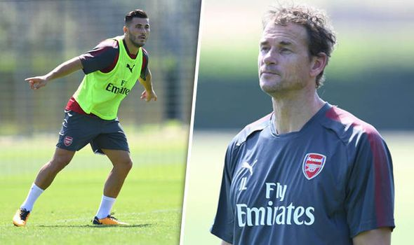 Jens Lehmann oversees Kolasinac and Ozil in Arsenal training while young loanees return   via Arsenal FC - Latest news gossip and videos http://ift.tt/2sM8tJr  Arsenal FC - Latest news gossip and videos IFTTT