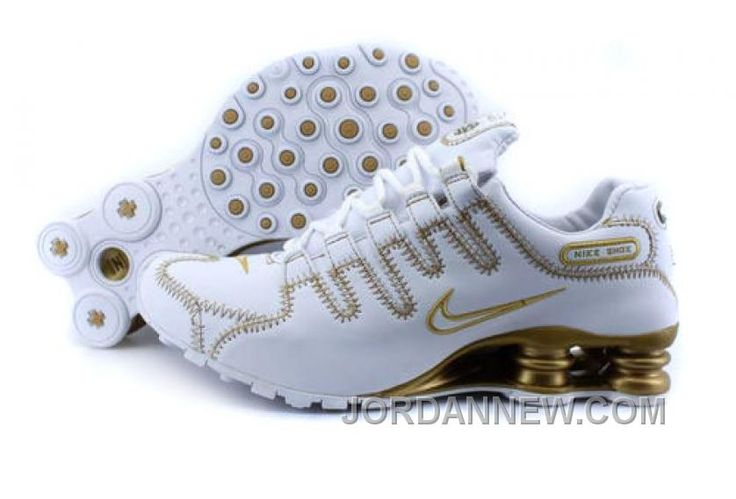 http://www.jordannew.com/mens-nike-shox-nz-shoes-white-gold-top-deals.html MEN'S NIKE SHOX NZ SHOES WHITE/GOLD TOP DEALS Only $76.47 , Free Shipping!