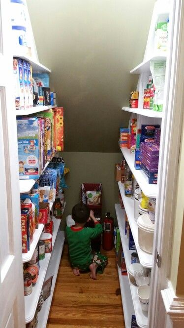 Under stairs pantry