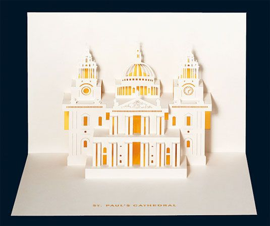 London landmarks reinvented as 3D paper art | Art | Creative Bloq