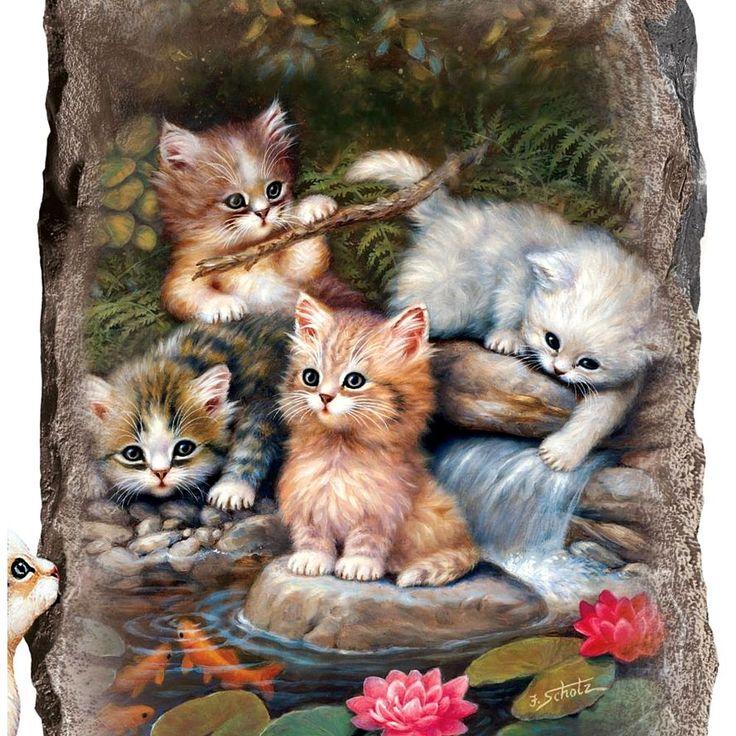 Картинки, анимационные открытки с кошечками