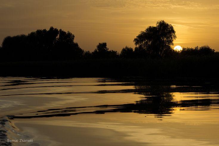 https://flic.kr/p/yGCMJW | Sunset | Lake Tisza