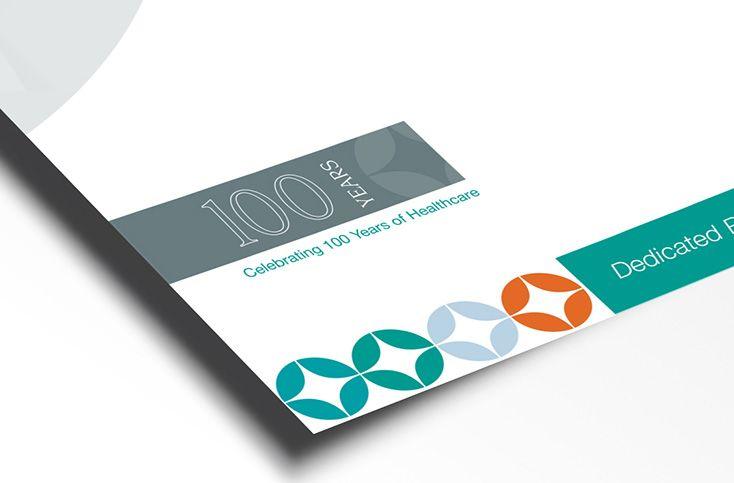 Our centenary logo design for @autevenhospital a simplistic design to compliment all internal and external material for the hospital #identity #logo #design #brand