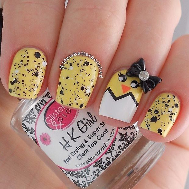 32 Cute Nail Art Designs for Easter - Best 25+ Easter Nail Art Ideas On Pinterest Easter Nail Designs