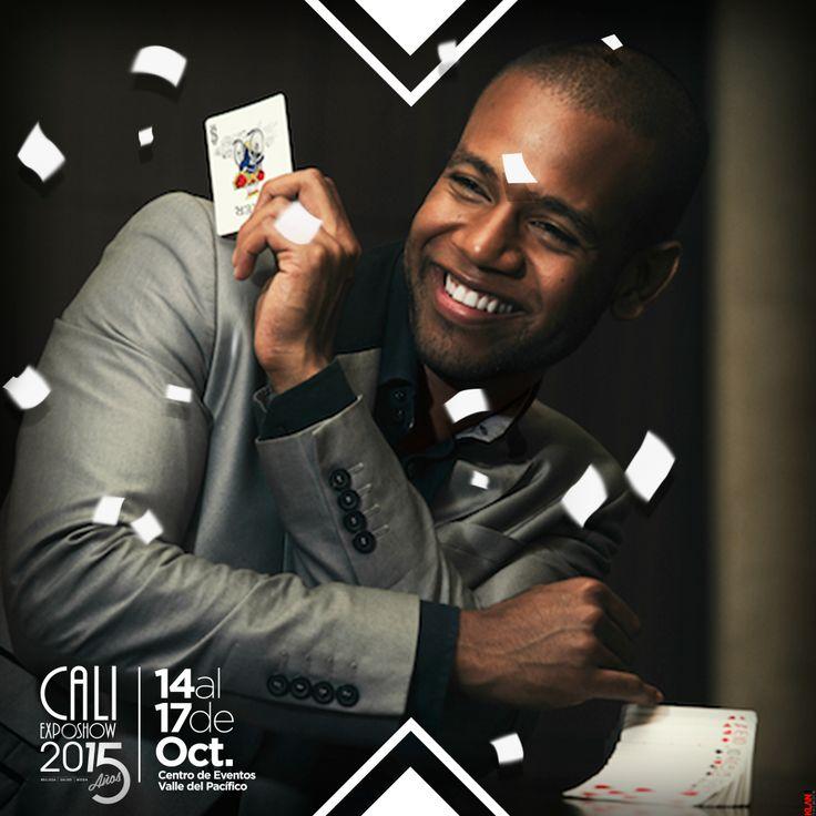 Vive la magia con Frank Nicols en el stand del Hotel Spiwak el jueves 15 de octubre a las 6:30 pm. #Hotelspiwak #Caliexposhow