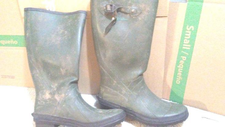 Gander Mountain Men's Wet Trek Farm Rubber Boot Size 12 #GanderMountain
