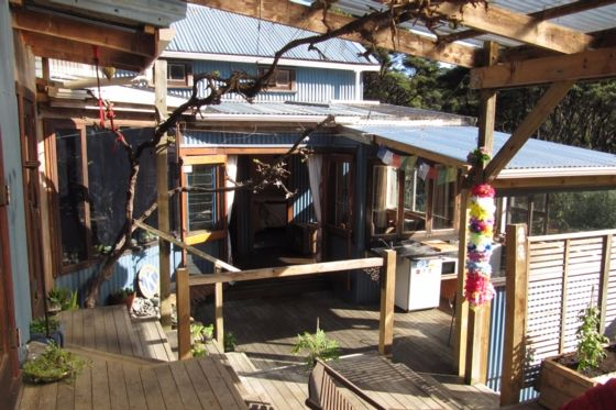 Guest deck area