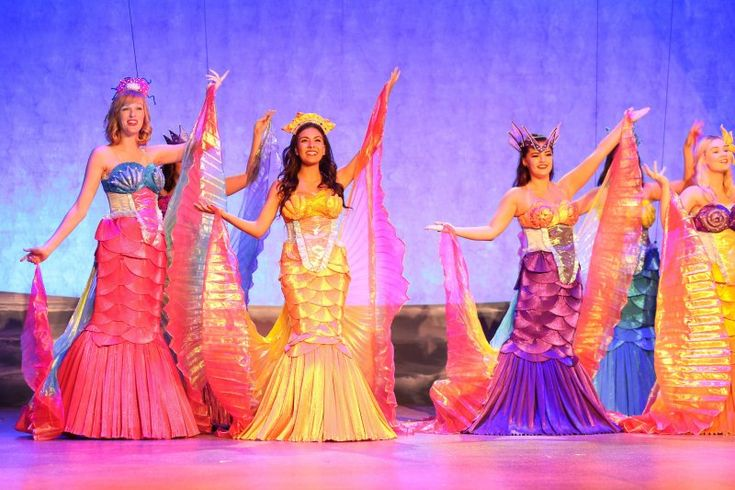 The Little Mermaid Musical costumes