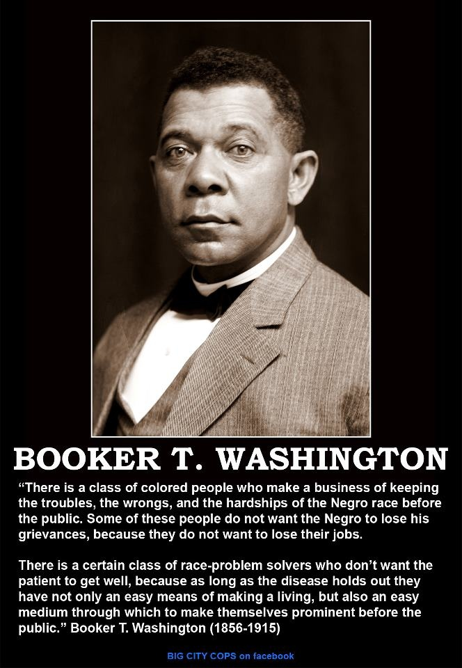 an analysis of booker t washington and his contribution for african americans Booker t washington believed deeply in the importance of education in the development of young people he suggests that african americans were crippled when they were freed by the federal government but had no means by which to educate themselves.
