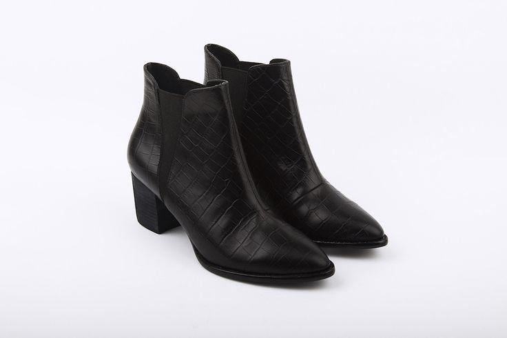 Dept. Of Finery - Lauren Croc Boot