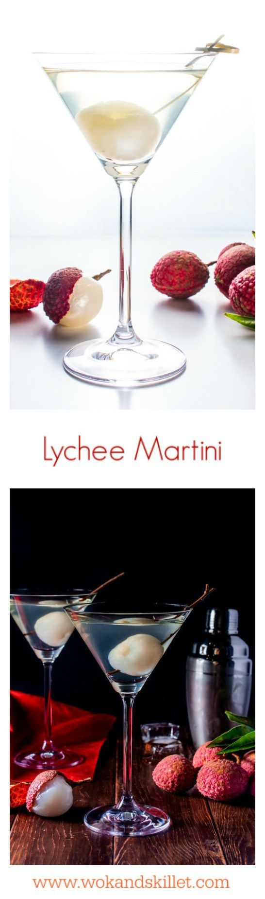 Lychee Martini is a sweet, tropical twist on the traditional martini. Make this simple cocktail anytime year round and as you sip, close your eyes and let your imagination take you to warm sandy beaches with crystal clear waters.